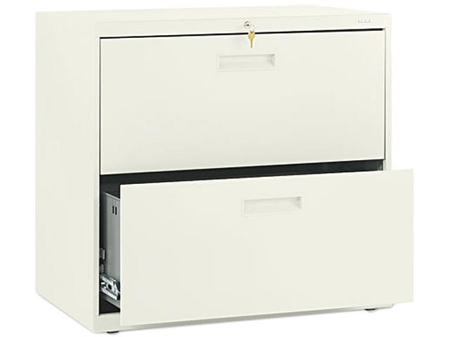 HON 572LL 500 Series Two-Drawer Lateral File, 30w x28-3/8h x19-1/4d, Putty