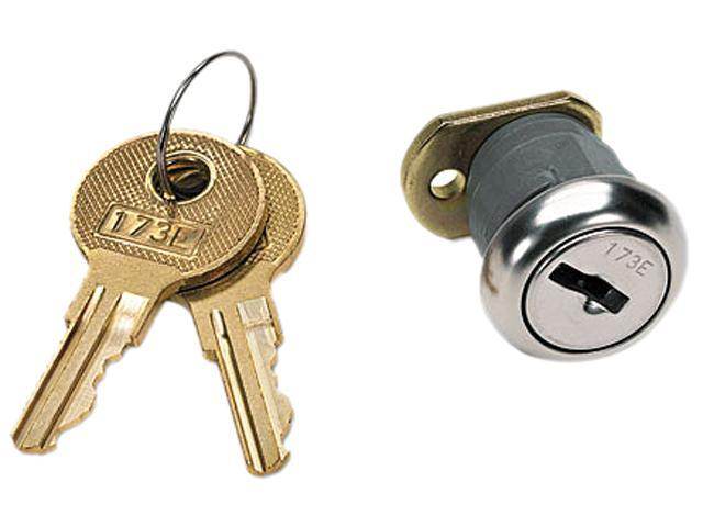 HON F24 Vertical File Lock Kit, Chrome