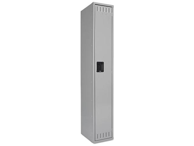 Tennsco STS121872AMG Single Tier Locker, 12w x 18d x 72h, Medium Gray
