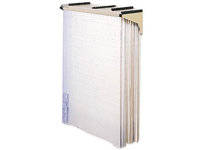 Safco 5030 Sheet File Drop/Lift Wall Rack, 1-1/4w x 11-3/8d x 7-7/8h, Sand