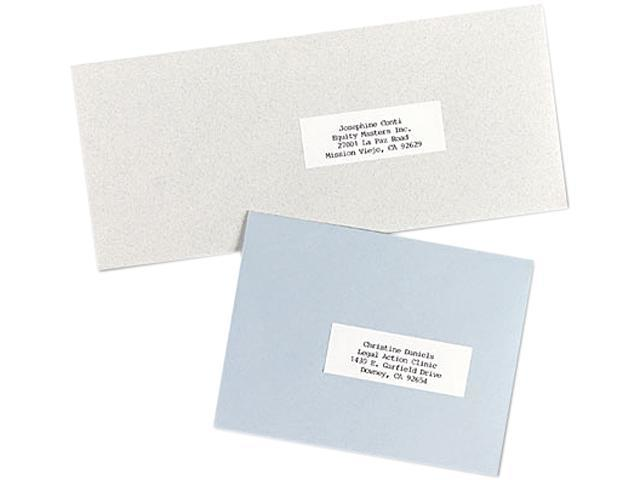 Avery 5332 Self-Adhesive Address Labels for Copiers, 1 x 2-13/16, White, 8250/Box