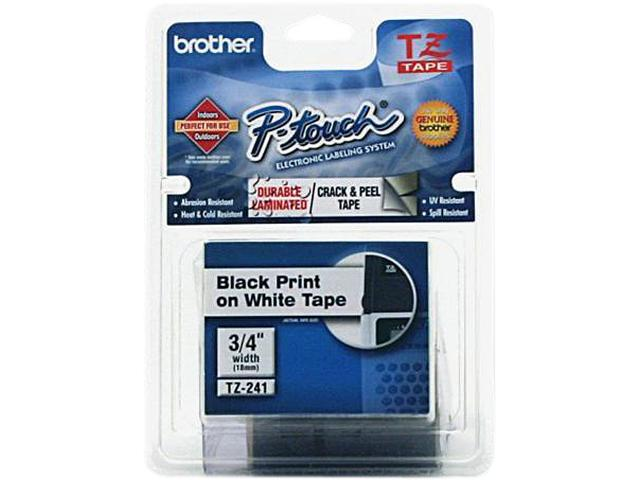 Brother P-Touch TZ Series Lettering Tape  , 0.75