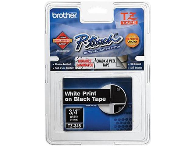 Brother P-Touch TZ Series Lettering Tape, 0.75