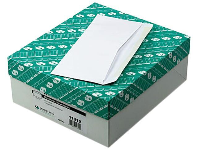 Quality Park 11312 Business Envelope, Contemporary, #11, White, 500/Box