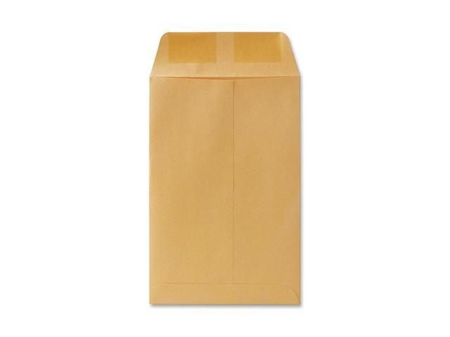 Quality Park 40760 Catalog Envelope, 6 x 9, Light Brown, 500/Box