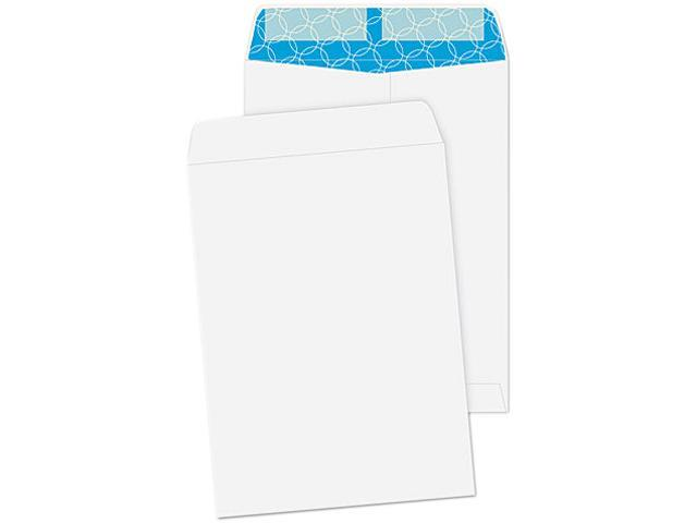 Quality Park 41415 Antimicrobial Catalog Envelope, 9 x 12, White, 100/Box