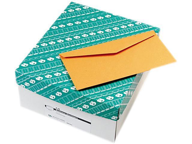 Quality Park 25762 Kraft Envelope, Contemporary, #16, Light Brown, 500/Box