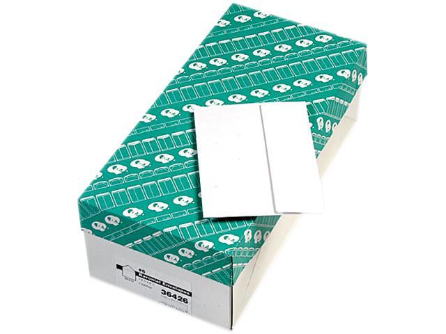Quality Park 36426 Greeting Card/Invitation Envelope, Contemporary, #6, White, 500/Box