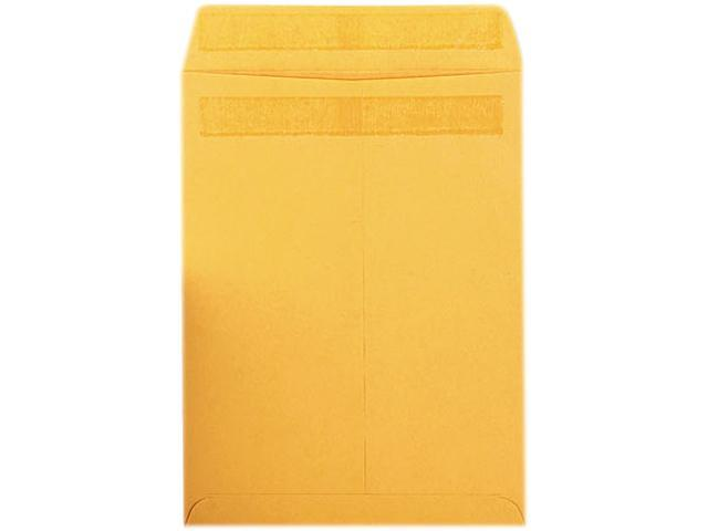 Quality Park 43567 Redi-Seal Catalog Envelope, 9 x 12, Light Brown, 100/Box