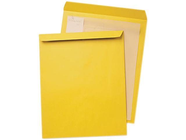 Quality Park 42353 Jumbo Size Kraft Envelope, 12 1/2 x 18 1/2, Light Brown, 25/Box