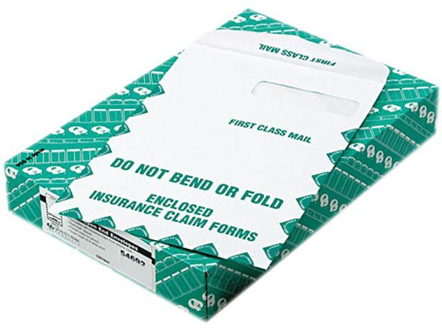 Quality Park 54692 Redi-Seal Insurance Envelope, First Class, Side Seam, 9 x 12 1/2, White, 100/Box