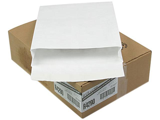 SURVIVOR R4290 Tyvek Expansion Mailer, 12 x 16 x 2, White, 18lb, 100/Carton