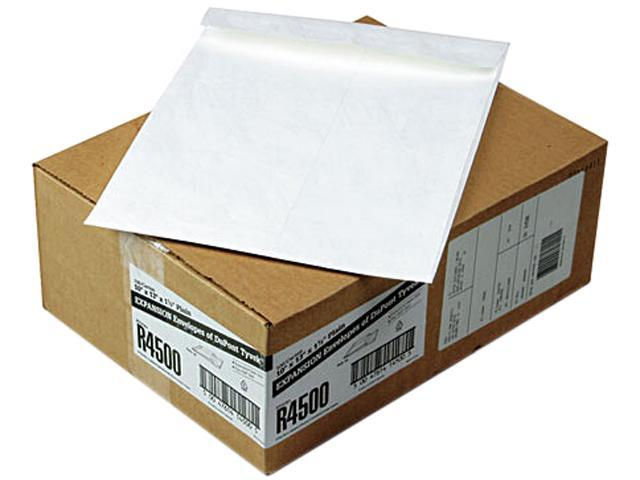 SURVIVOR R4500 Tyvek Expansion Mailer, 10 x 13 x 1 1/2, White, 100/Carton