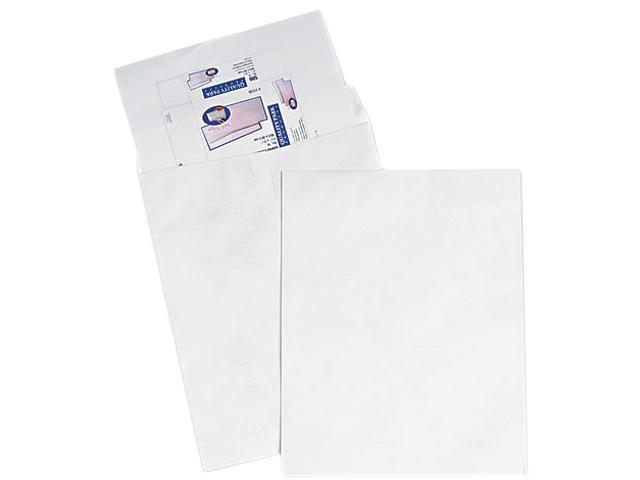 SURVIVOR R5106 Tyvek Jumbo Mailer, Side Seam, 14 1/2 x 20, White, 25/Box