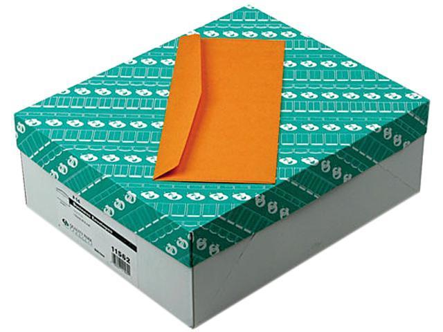 Quality Park 11562 Kraft Envelope, Contemporary, #14, Light Brown, 500/Box