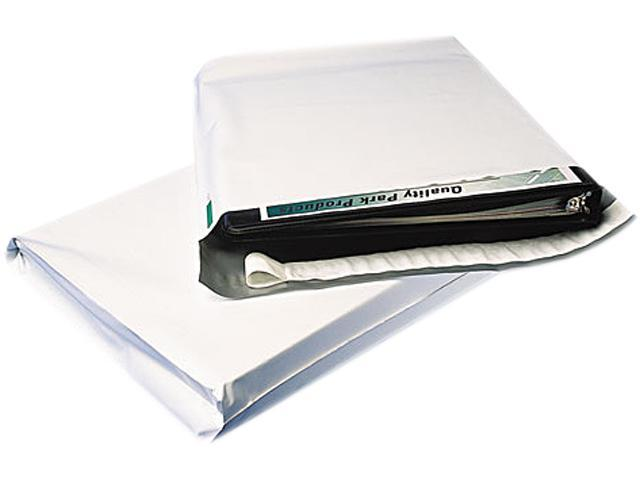 Quality Park 46390 Redi-Strip Poly Expansion Mailer, Side Seam, 11 x 13 x 2, White, 100/Carton