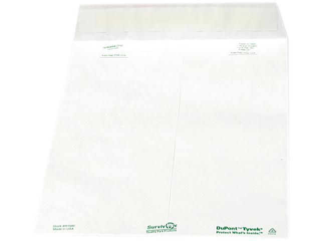 Quality Park 69007 White Wove Business Envelope Convenience Packs, V-Flap, #10, Recycled, 100/Box