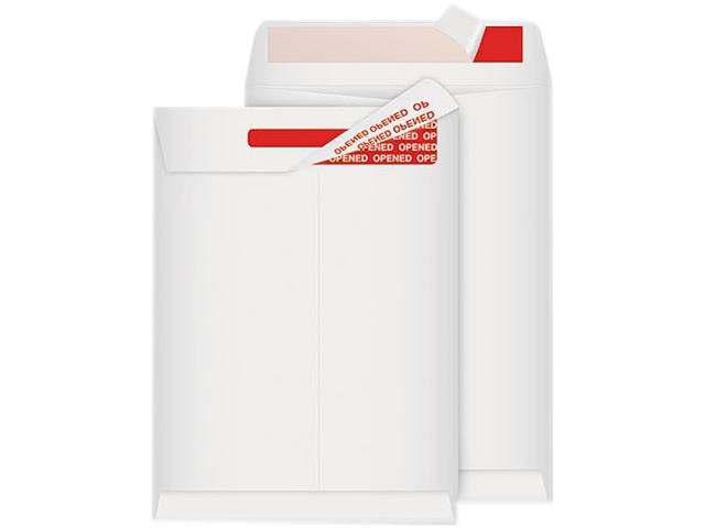 Quality Park R2400 Advantage Flap-Stik Tyvek Mailer, Side Seam, 9 x 12, White, 100/Box