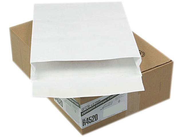 SURVIVOR R4520 Tyvek Expansion Mailer, 12 x 16 x 2, White, 100/Carton