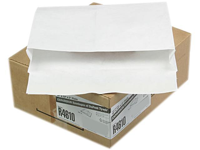Quality Park R4610 Tyvek Booklet Expansion Mailer, 10 x 13 x 2, White, 100/Carton