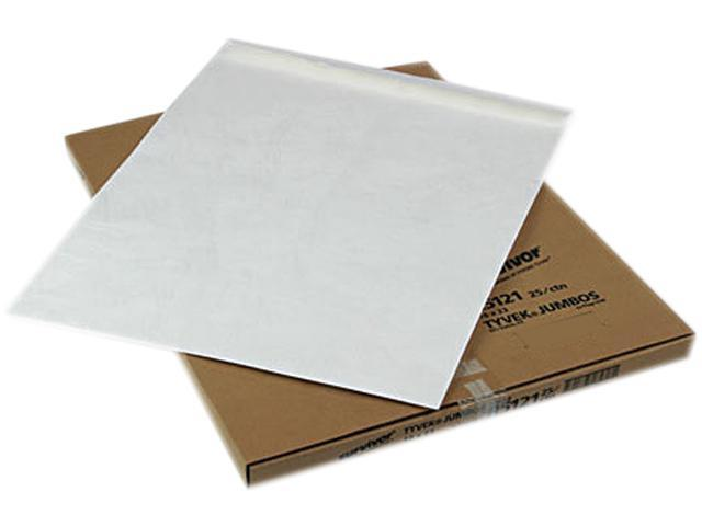 SURVIVOR R5121 Tyvek Jumbo Mailer, Side Seam, 18 x 23, White, 25/Box