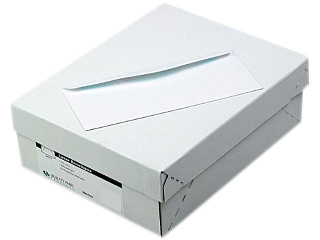 Quality Park 11184 Laser & Inkjet Envelope, Traditional, #10, White, 500/Box