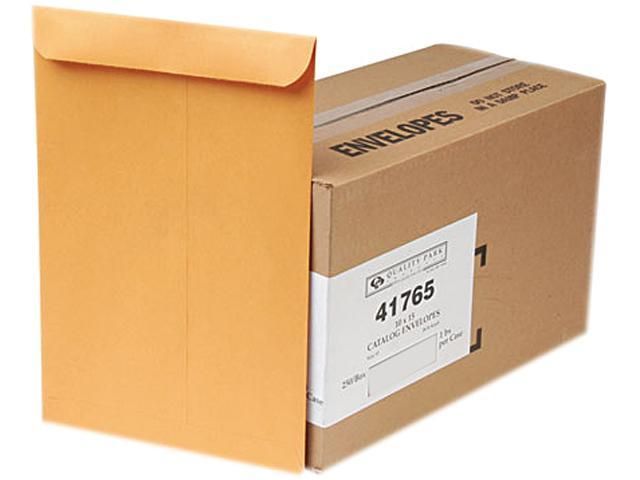Quality Park 41765 Catalog Envelope, 10 x 15, Light Brown, 250/Box