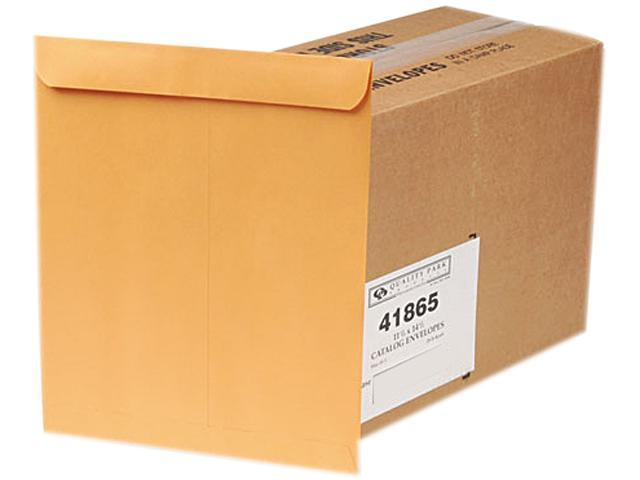 Quality Park 41865 Catalog Envelope, 11 1/2 x 14 1/2, Light Brown, 250/Box