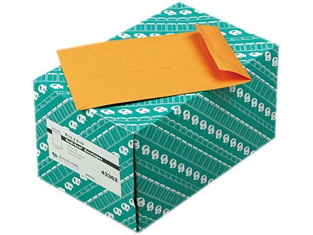 Quality Park 43362 Redi-Seal Catalog Envelope, 6 1/2 x 9 1/2, Light Brown, 250/Box