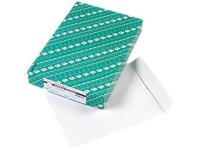 Quality Park 43617 Redi-Seal Catalog Envelope, 9 1/2 x 12 1/2, White, 100/Box