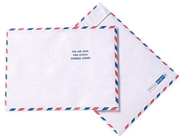 SURVIVOR R1600 Tyvek USPS Air Mail Mailer, Side Seam, 10 x 13, White, 100/Box