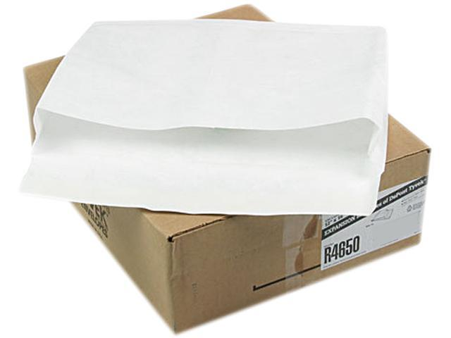 Quality Park R4650 Tyvek Booklet Expansion Mailer, 12 x 16 x 2, White, 100/Carton