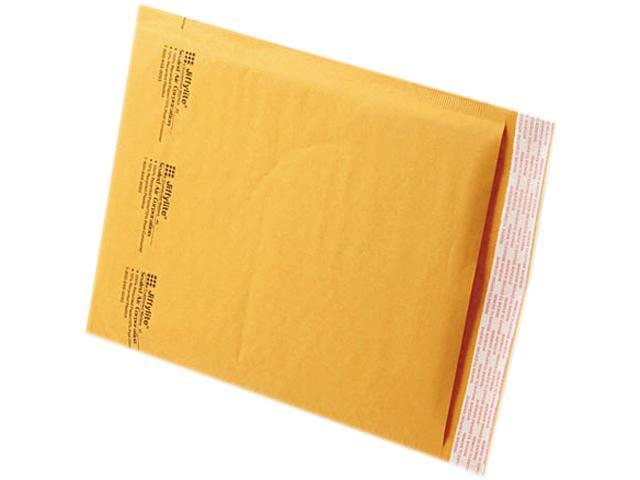 Sealed Air 39093 Jiffylite Self-Seal Mailer, Side Seam, #2, 8 1/2 x 12, Golden Brown, 100/Carton