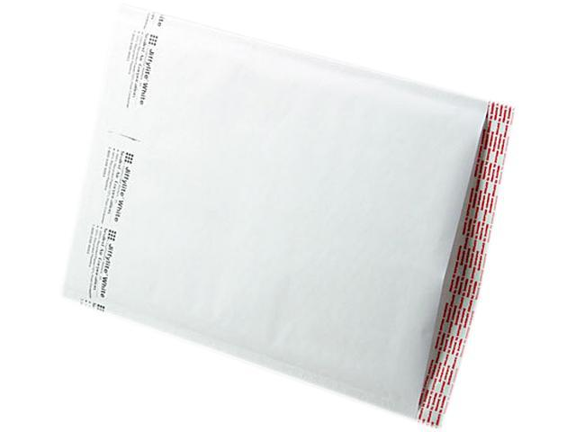 Sealed Air 39260 Jiffylite Self-Seal Mailer, Side Seam, #4, 9 1/2 x 14 1/2, White, 100/Carton