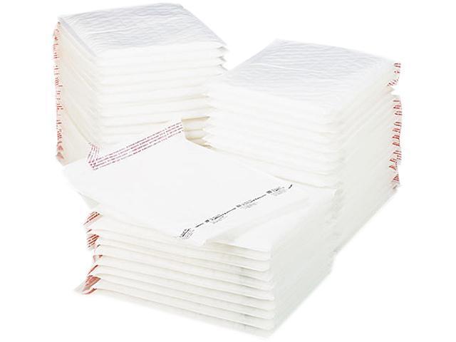 Sealed Air 10649 Jiffy TuffGard Self-Seal Cushioned Mailer, #5, 10 1/2 x 16, White, 50/Carton