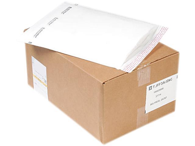 Sealed Air 37714 Jiffy TuffGard Self-Seal Cushioned Mailer, #5, 10 1/2 x 16, White, 25/Carton