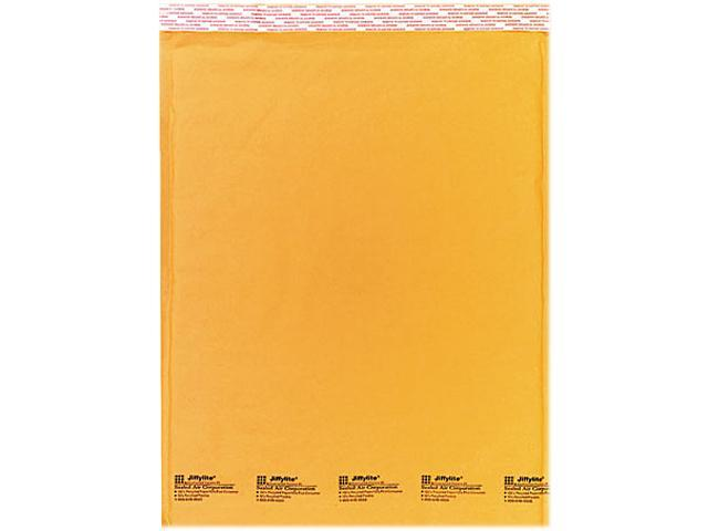Sealed Air 32318 Jiffylite Self-Seal Mailer, Side Seam, #7, 14 1/2 x 20, Golden Brown, 10/Pack