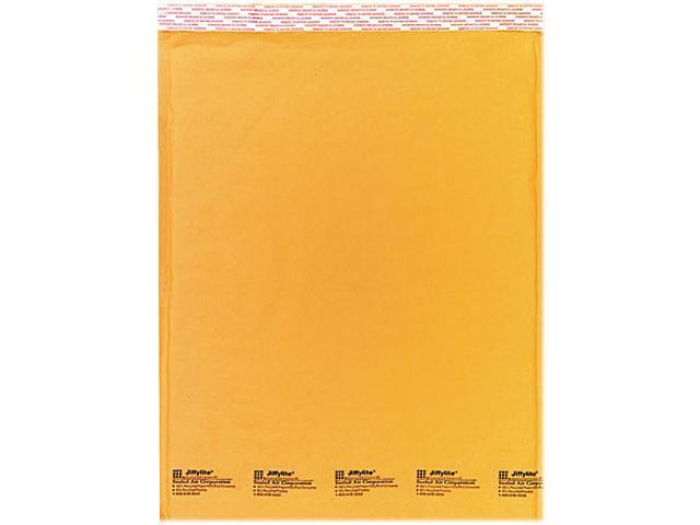 Sealed Air 32318 Jiffylite Self-Seal Mailer, Side Seam, #7, 14 1/2 x 20, Golden Brown, 10/Pack