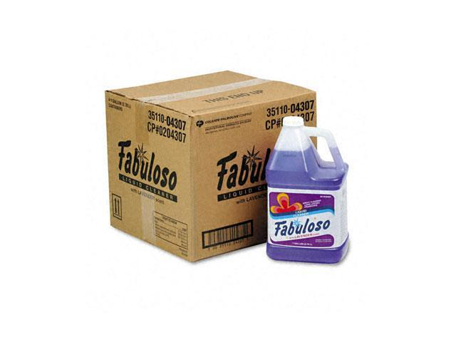 Fabuloso 04307CT All-Purpose Cleaner, 1 gal Bottle, 4/Carton