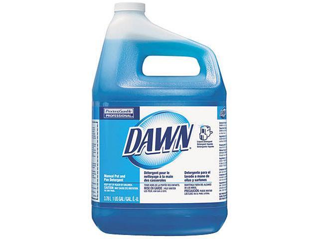 P&G PAG57445 - Dawn Dishwashing LiquidLiquid Solution - 128 fl oz (4 quart) - Original Scent - 1 Each - Blue