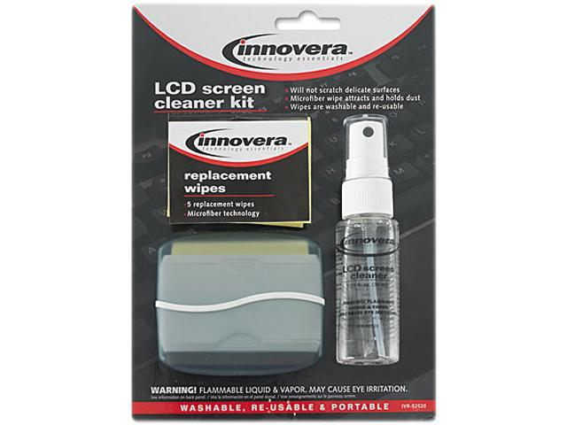 Innovera 52520 LCD Screen Cleaner, 1.1 oz. Pump Bottle