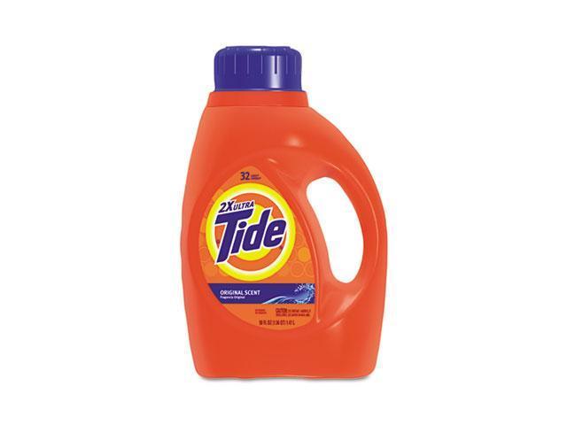 Tide 13878EA Ultra Liquid Tide Laundry Detergent, 50 oz., Bottle, Single