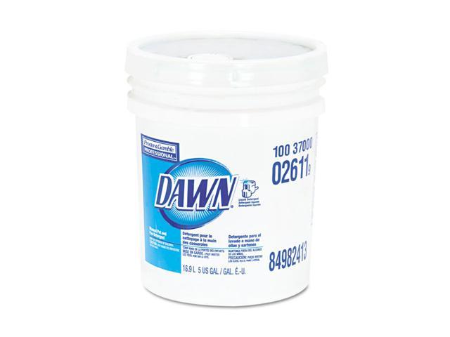 Dawn PAG02611 Dishwashing Liquid, Original Scent, 5 Gal. Pail, 1/Carton