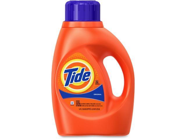 Tide 13878CT Ultra Liquid Tide Laundry Detergent, 50 oz. Bottle, 6/Carton