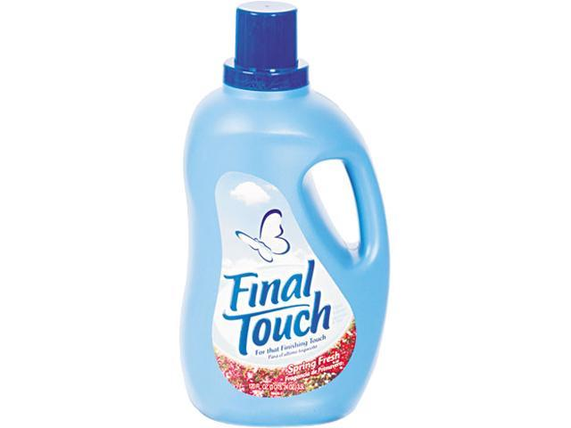 Phoenix Brands 58420 Final Touch Ultra Liquid Fabric Softener, 120 oz. Bottle