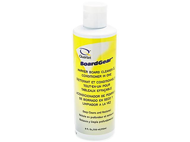 Quartet 551 BoardGear Marker Board Conditioner/Cleaner for Dry Erase Boards, 8 oz. Bottle