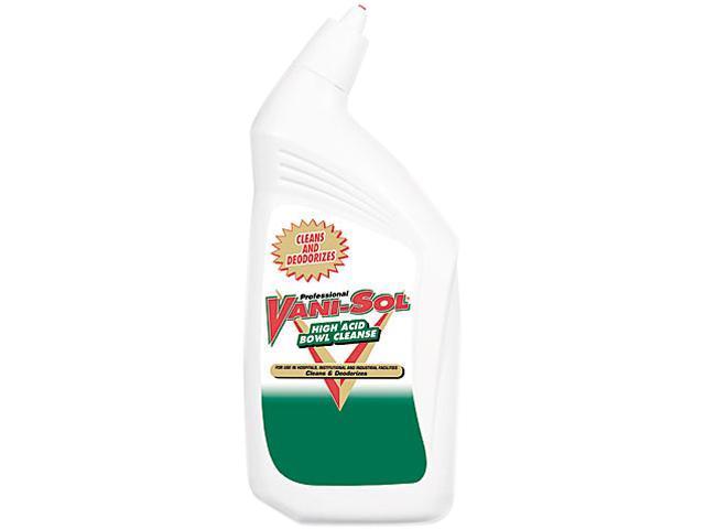 Professional VANI-SOL 02212EA High Acid Bowl Cleanser, 32 oz. Bottle