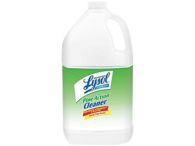 Professional LYSOL Brand 02814 Disinfectant Pine Action Cleaner, 1 gal. Bottle