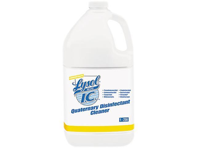 LYSOL Brand I.C. 74983CT Quaternary Disinfectant Cleaner, 4 1 gal Bottles/Carton