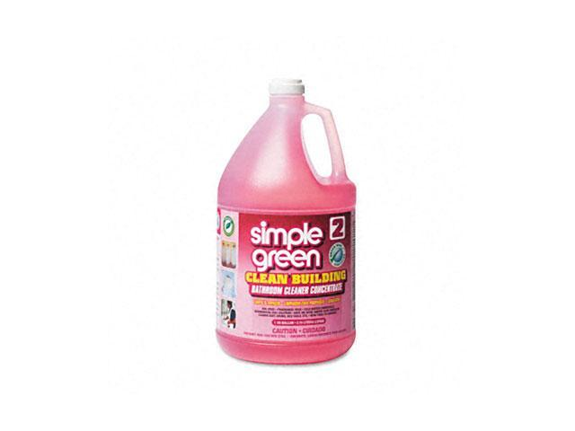 simple green 11101 Clean Building Bathroom Cleaner Concentrate, Unscented, 1 gal. Bottle
